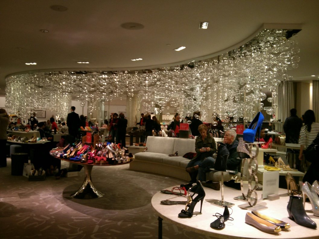 Scarpe da Saks Fifth Avenue, New York