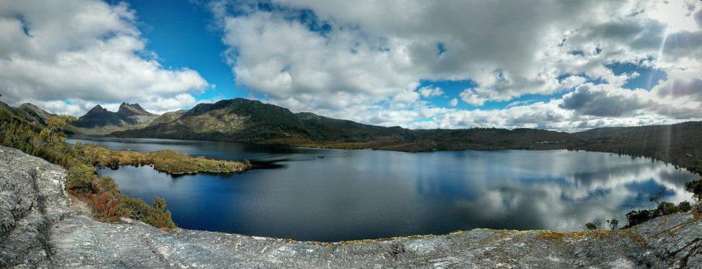 Dove Lake e Cradle Mountain, Tasmania.
