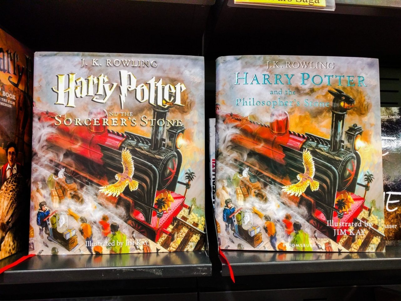 Harry Potter and the Philosopher's/Sorcerer's Stone