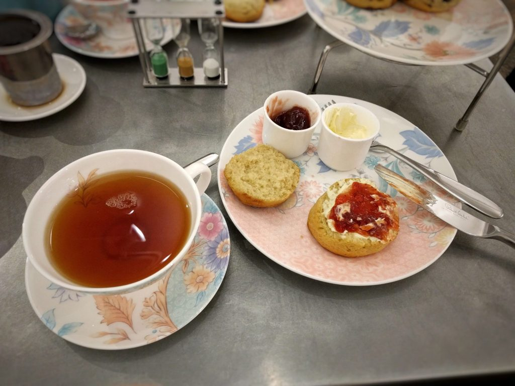 Cream Tea and Scones