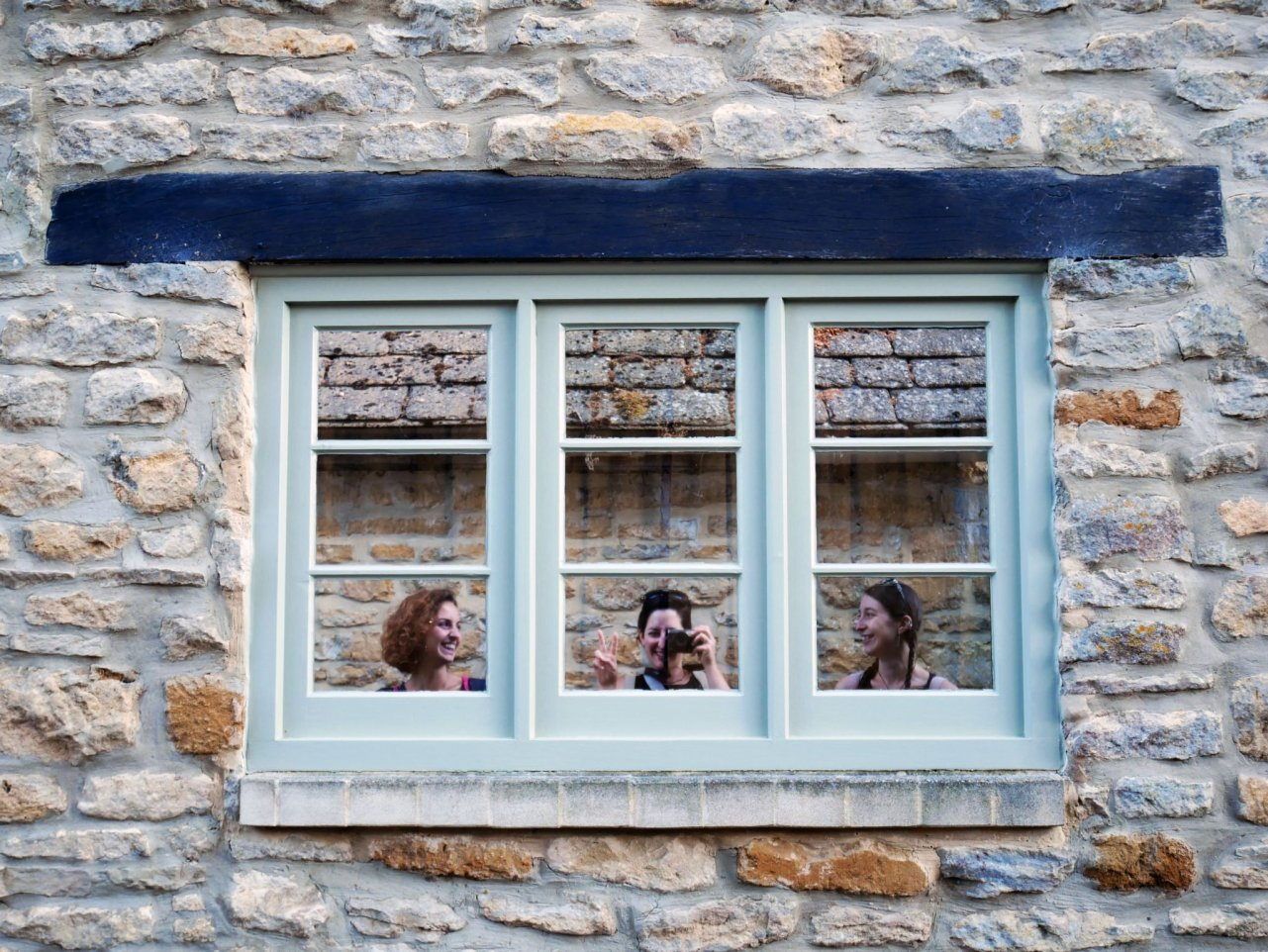 Alla finestra nelle Cotswolds