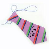 Lavoretti Per La Festa Del Papà Una Cravatta Di Carta