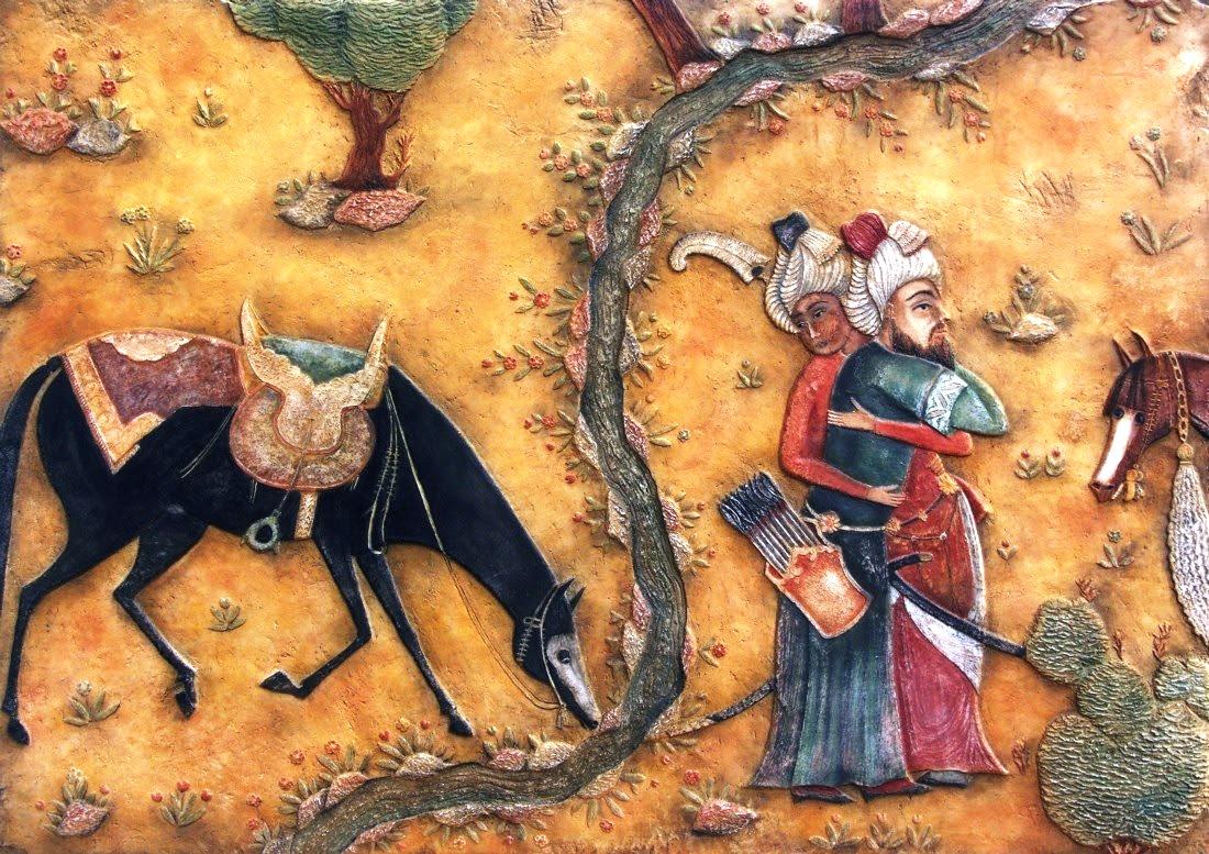 Pintura Islámica La Voz Del árabe