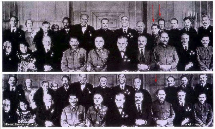 las fotografias historicas retocadas cuando no existia el photoshop 7
