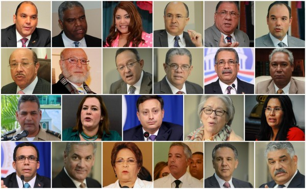 La$ fortunas$ del  Gabinete de Danilo Medina
