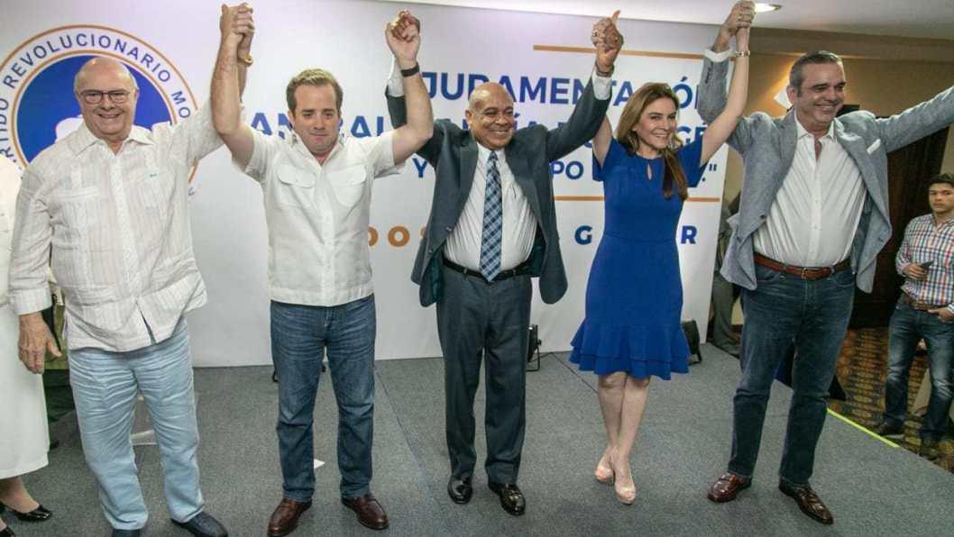 Al grito !Unidos Para Ganar!  PRM juramenta a Anibal Garcia Duverge y a su equipo político