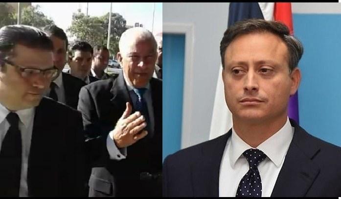 Jean Alain intervino ilegalmente Celular Yayo Sanz Lovaton, Secretario Finanzas PRM y Abogado Andrés Bautista