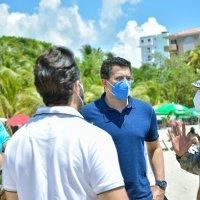@DavidColladoM y Cestur realizan jornada de limpieza y verificación seguridad en Juan Dolio