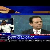 Andrés Bautista demanda al ex procurador Jean Alain Rodríguez por 500 millones de pesos