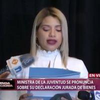 Ministra de la Juventud solicita licencia sin disfrute de sueldo