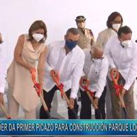 @LuisAbinader deja iniciada construcción Parque Logístico en Nigua aportará cerca de 10,000 empleos