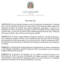 Decreto 685-20 emitido por el Presidente @LuisAbinader @PRM_Oficial