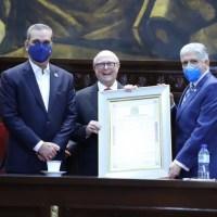 @SenadoRD Reconoce a Hipólito Mejía por sus aportes Agropecuarios