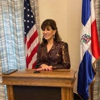 Robín Bernstein, @EmbajadaUSAenRD reitera su colaboración con Gobierno dominicano