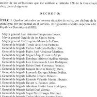 Decreto 693-20 emitido por el Presidente @LuisAbinader @PRM_Oficial
