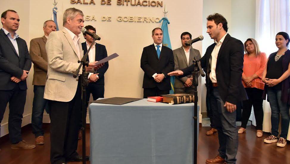 Das Nevespuso en funciones a Cagliolo al  frente de la Unidad Ejecutora Provincial