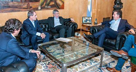 Das Neves se reunió con Dujovne y la evolución de las cuentas públicas fue eje del encuentro