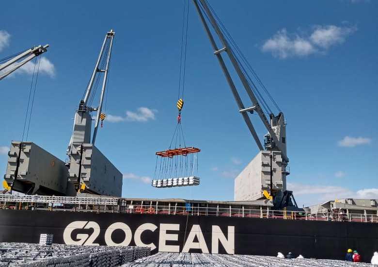 El Buque HOLLY ARROW se encuentra operando en el Muelle Almirante Storni