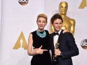 Blanchett entregó el Oscar a Mejor Actor