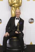 J.K. Simmons disfrutando de su merecido Oscar