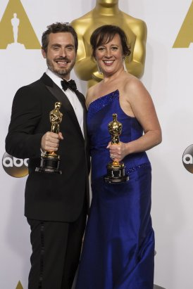 Patrick Osborne y Kristina Reed
