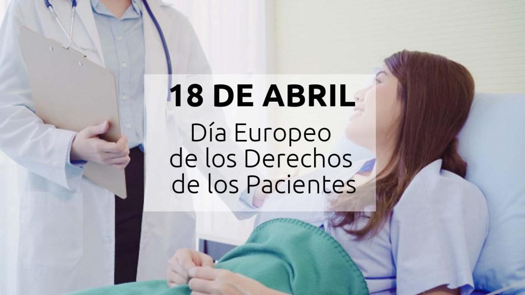 18 abril - Día Europeo de los Derechos de los Pacientes 1