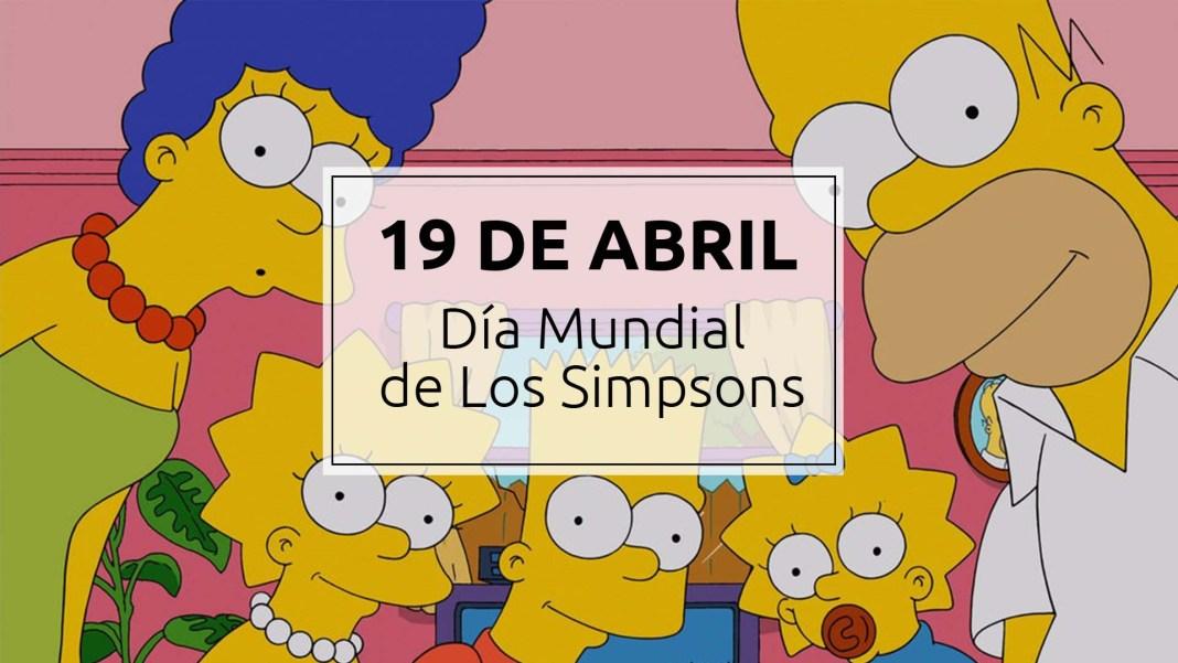 19 de abril - Día mundial de Los Simpsons 1
