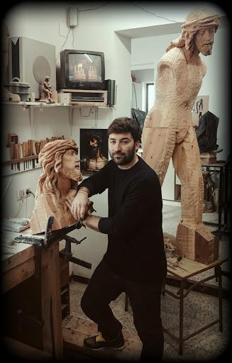 El escultor visueño Ramón Martín asegura vivir una situación profesional de incertidumbre por la crisis sanitaria 1