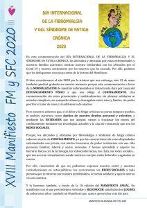 AFICAR celebra el Día Internacional de la Fibromialgia 2