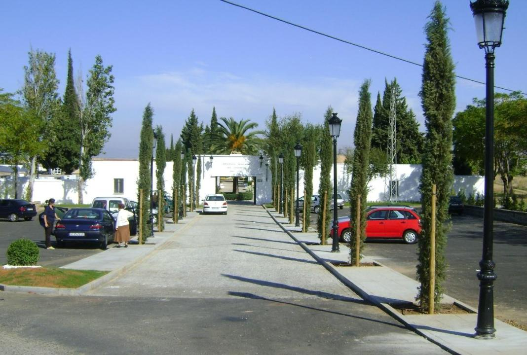 Queda abierto de nuevo el Cementerio Municipal de Carmona 1