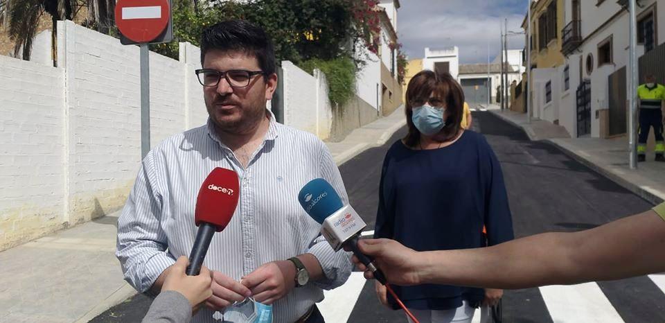 Finalizan las obras en calle Jazmín