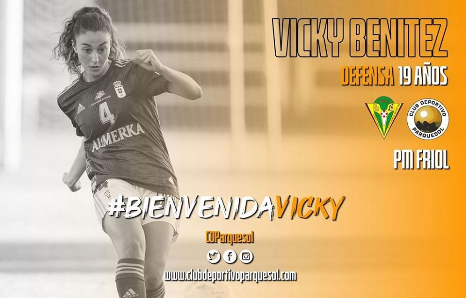 Vicky Benítez jugará la próxima temporada en el CD Parquesol