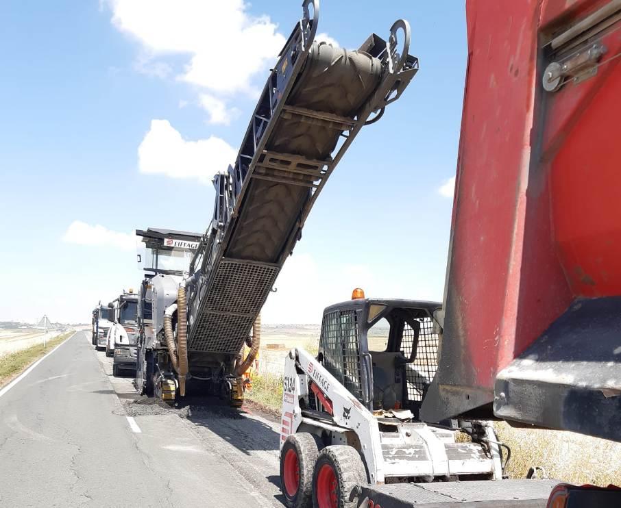 Comienzan las obras de mejora en la carretera de La Vega