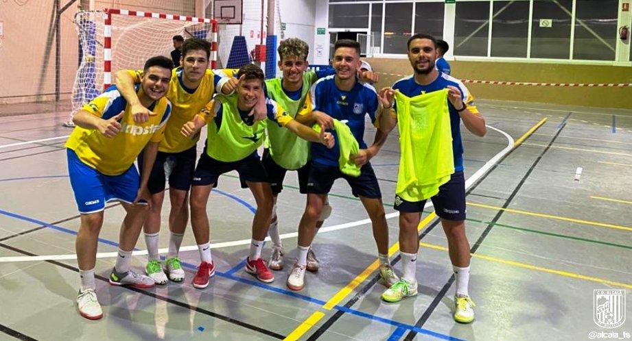El CD Alcalá FS se juega este sábado el ascenso a Segunda B