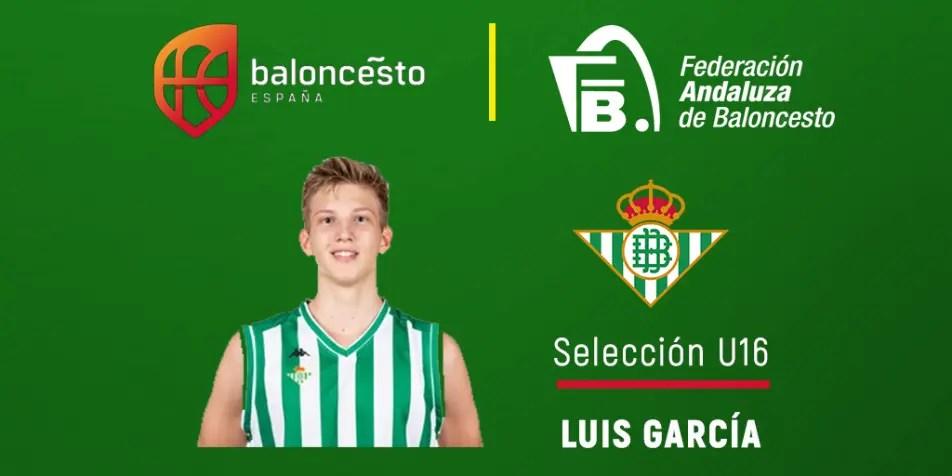 El alcalareño Luis García, convocado por la Selección Española U16