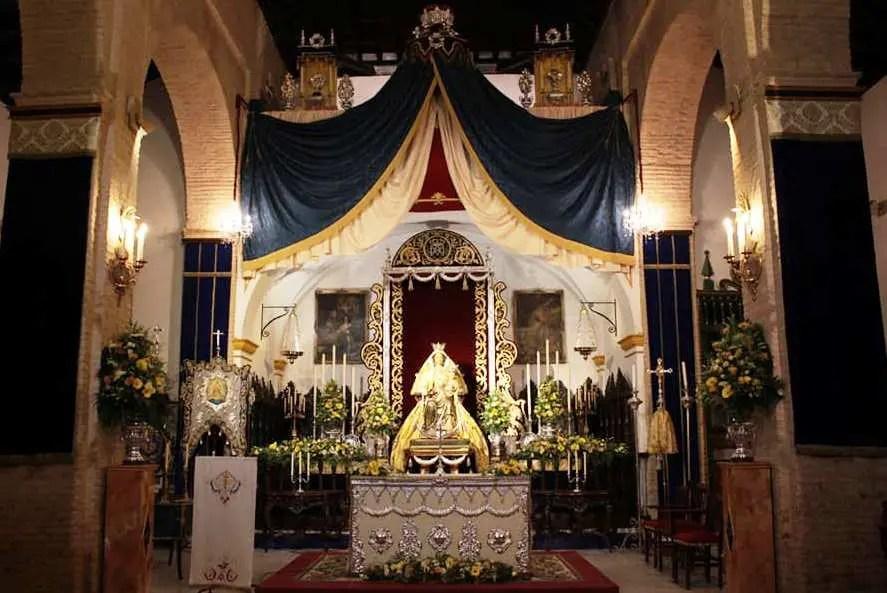 Comienza la Novena en honor a Santa María del Alcor