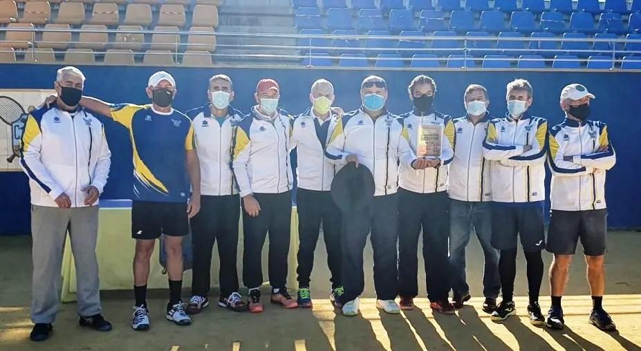 Los veteranos +50 del CT Oromana también son campeones de Andalucía