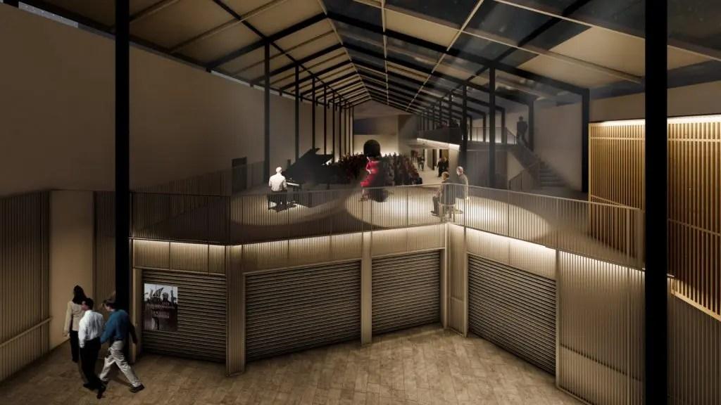 Así será la futura Casa de la Juventud emplazada en la Plaza de Abastos 1