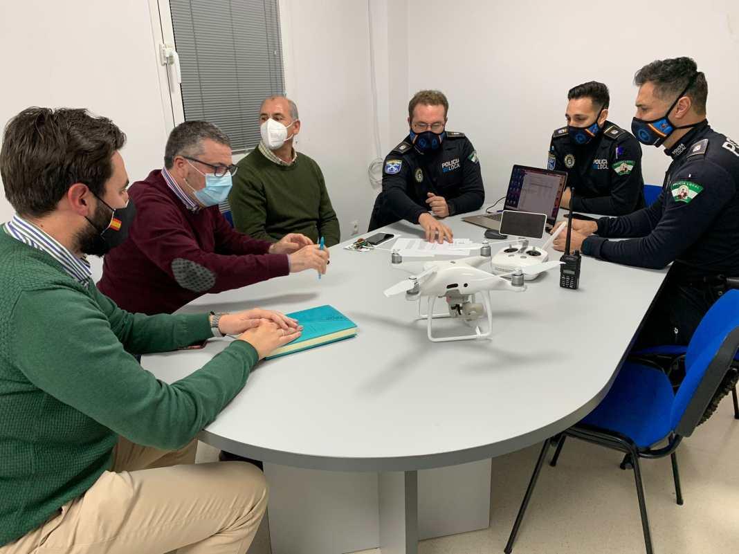Carmona contará con una unidad policial de drones 1