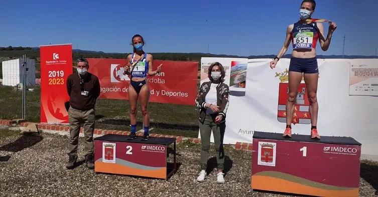 Carmen Gutiérrez, subcampeona de España máster de cross