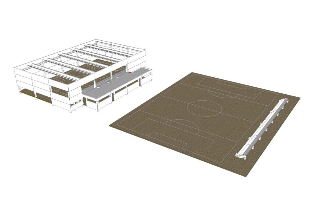A concurso la construcción de un pabellón en Guadajoz, Carmona 1