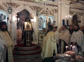 Η Χορωδία Λαυρίου ψάλλει το απολυτίκιο του Αγίου Ανδρέου