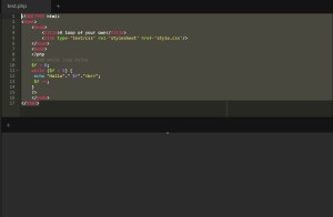 php-while