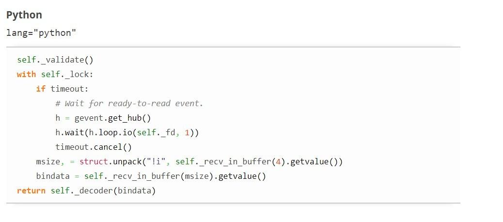 Плагин для вставки примера кода в запись
