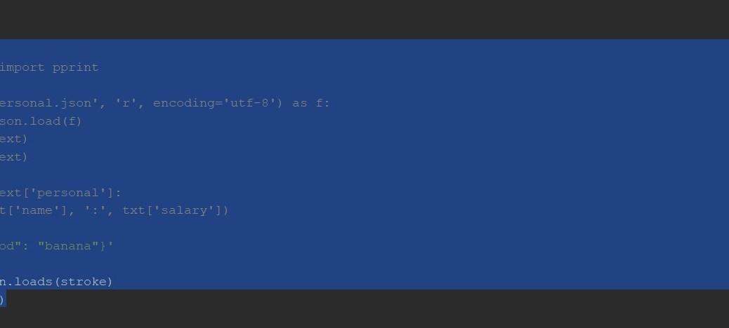 Как читать JSON-файл в Python