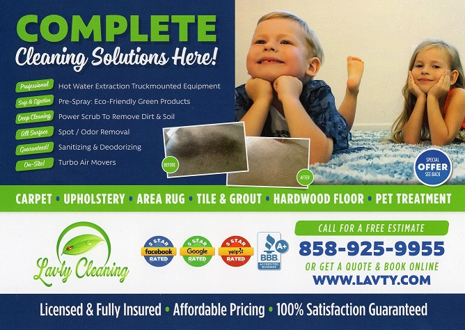 Carpet and Upholstery Cleaning San Diego