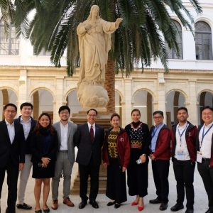UP College of Law Sends Academic Delegation to Spain