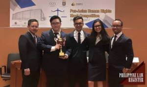 UP wins 1st Pan-Asia International Human Rights Moot