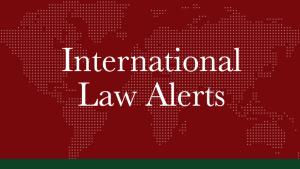 June 2021   International Law Alerts   West Philippine Sea/ International Arbitration Law