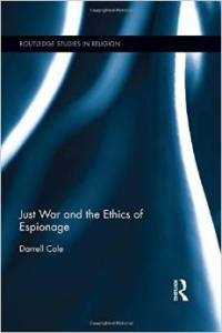 Just War and the Ethics of Espionage